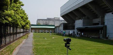 岡山県内のアーチェリー練習場